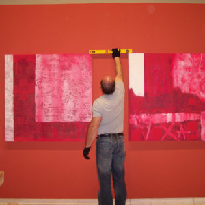Renzo Bellanca – Mostra Emoción e Erosión – Allestimento