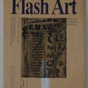 Renzo Bellanca Comunicazione su busta Flash Art