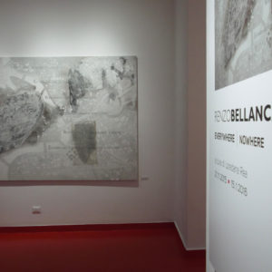 Renzo Bellanca EVERYWHERE NOWHERE in galleria 4507 NN