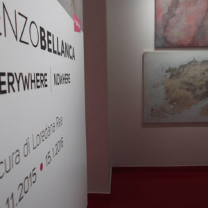 Renzo Bellanca EVERYWHERE NOWHERE in galleria 4508 AA