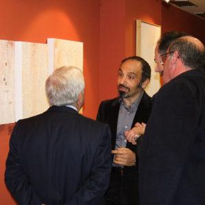 Renzo Bellanca Emoción e Erosión Inauguración