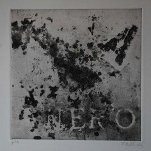 Renzo Bellanca Nero omaggio a Burri