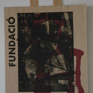 Renzo Bellanca OMAGGIO A TAPIES 1 su busta Fondazione Tapies