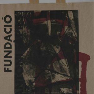Renzo Bellanca OMAGGIO A TAPIES 2 su busta Fondazione Tapies