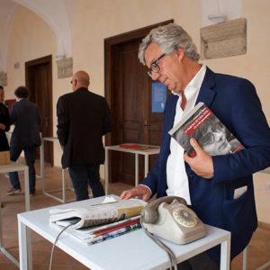 TRAME 5 Paolo Siani visita l'installazione